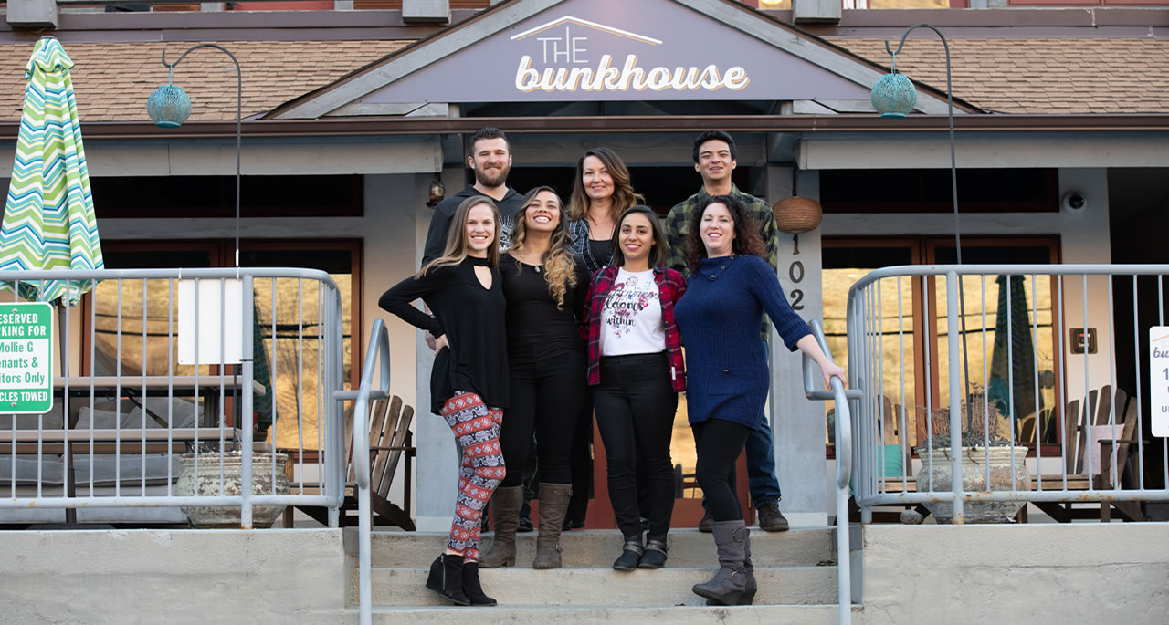 Staff at The Bunkhouse
